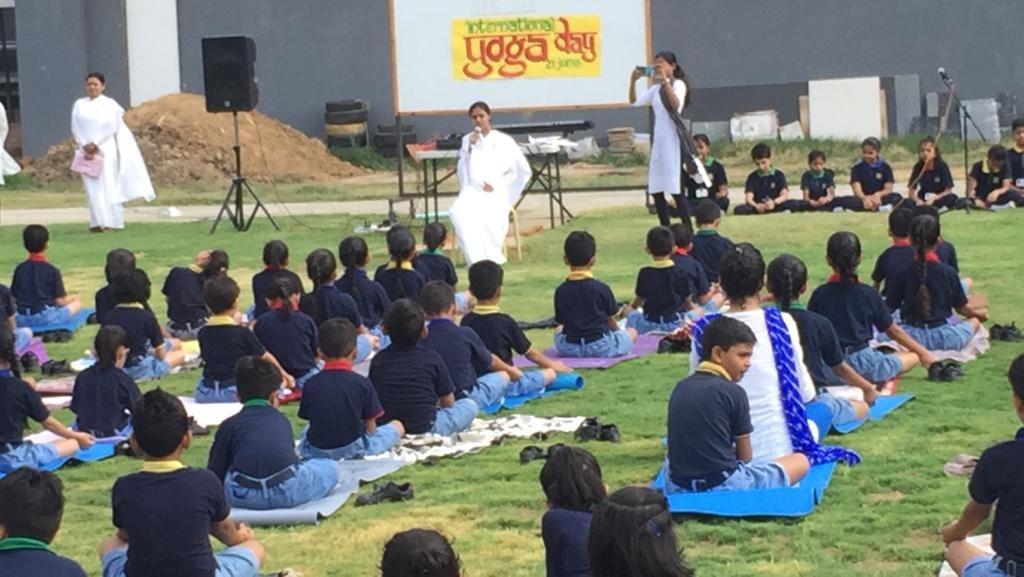 International Day of Yoga: Vadodra